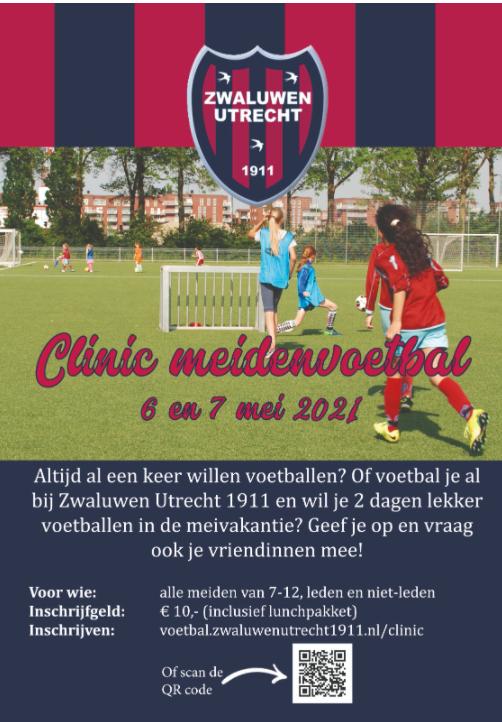 Tweedaagse clinic meidenvoetbal