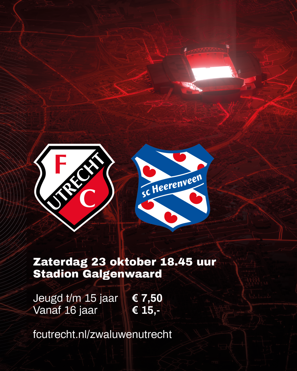 Met korting naar FC Utrecht (en ook nog Zwaluwen spekken)